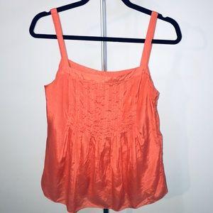 J.Crew Spaghetti-strap camisole orange size 2